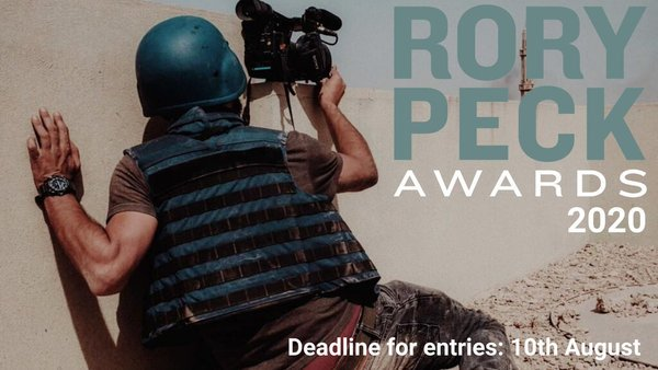 Rory Peck Awards 2020 for freelance Journalists
