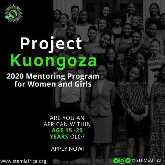 Kuongoza Mentorship Program 2020 for Women & Girls.