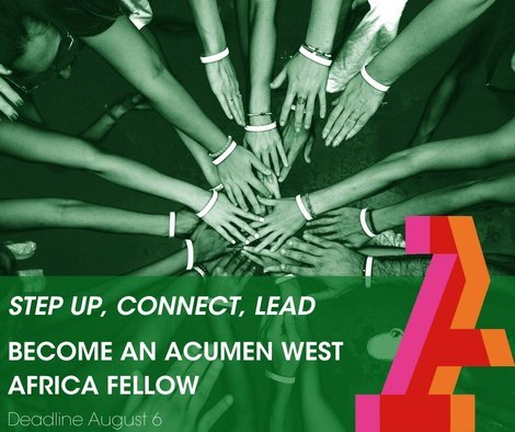 Acumen West Africa Fellows Program 2021 for emerging Leaders in West Africa (Fully Funded)
