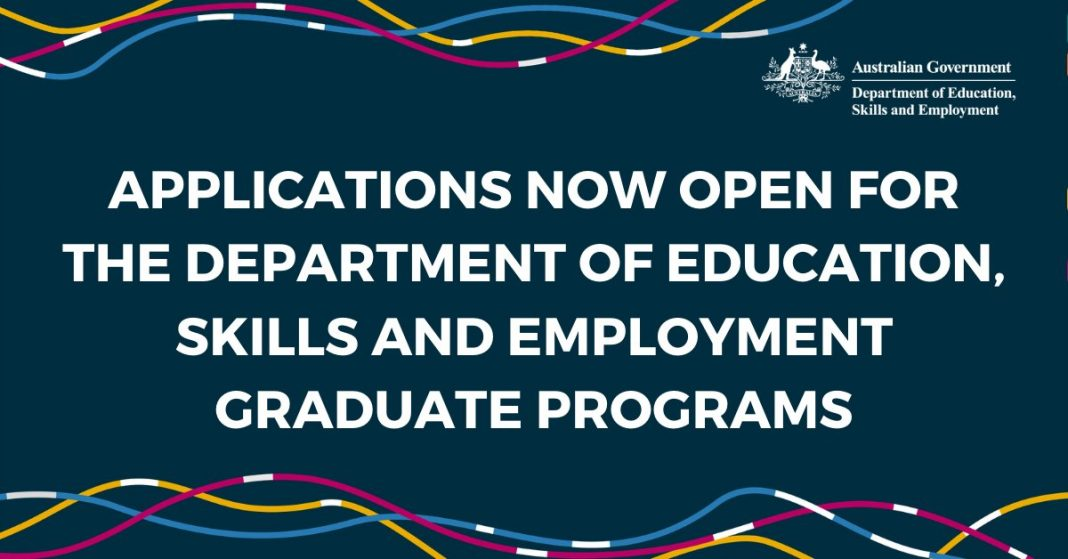 Australian Government Department of Education, Skills and Employment (DESE) Graduate Program 2021 – Economics Pathway