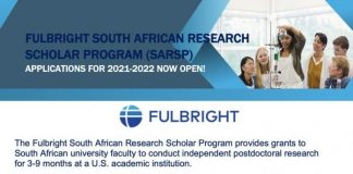 Fulbright Foreign Student Program 2021/2022 for South African Scholars (Fully Funded to USA)
