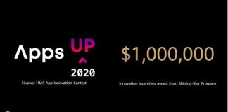 The Huawei HMS App Innovation Contest 2020 for developers worldwide (USD$1 million total in cash prizes)
