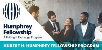 Hubert H. Humphrey Fellowship Program 2021 for Young and Mid-career Professionals (Funded to the US)