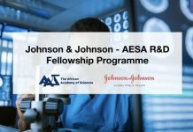Johnson & Johnson-AESA Research & Development (R&D) Fellowship Programme 2020