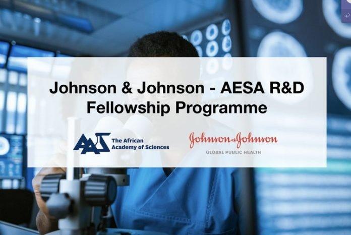 Johnson & Johnson-AESA Research & Development (R&D) Fellowship Programme 2020