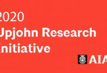 American Institute of Architects (AIA) Upjohn Research Initiative Grants 2020 (up to $30,000)