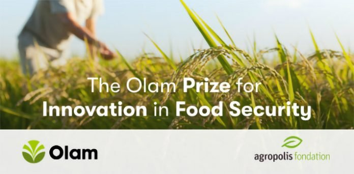 Agropolis Foundation 2021 Olam Prize for Innovation in Food Security ( USD$75,000 grant)
