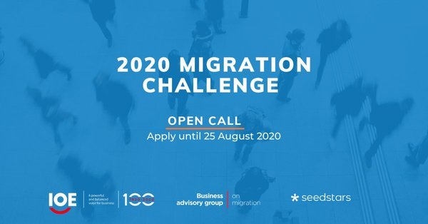 Seedstars Migration Challenge 2020 for socially driven Startups