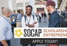 2020 SOCAP Virtual Scholarship for Social Entrepreneurs