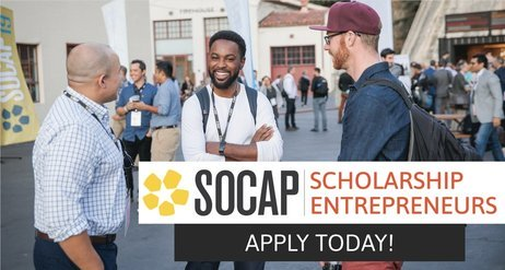 2020 SOCAP Virtual Scholarship for Social Entrepreneurs