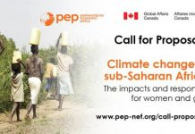 "Partnership for Economic Policy (PEP) call for project proposals on ""Climate change in Sub-Saharan Africa (US $58,000 in Funding)"