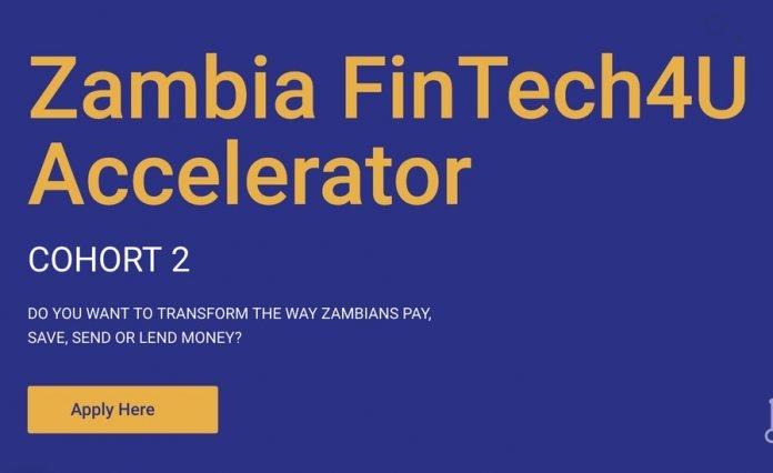 Zambia FinTech4U Accelerator Programme 2020 for Zambian FinTech startups