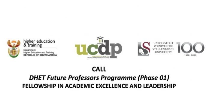 2020 DHET Future Professors Programme (Phase 01) Fellowship in Academic Excellence and Leadership