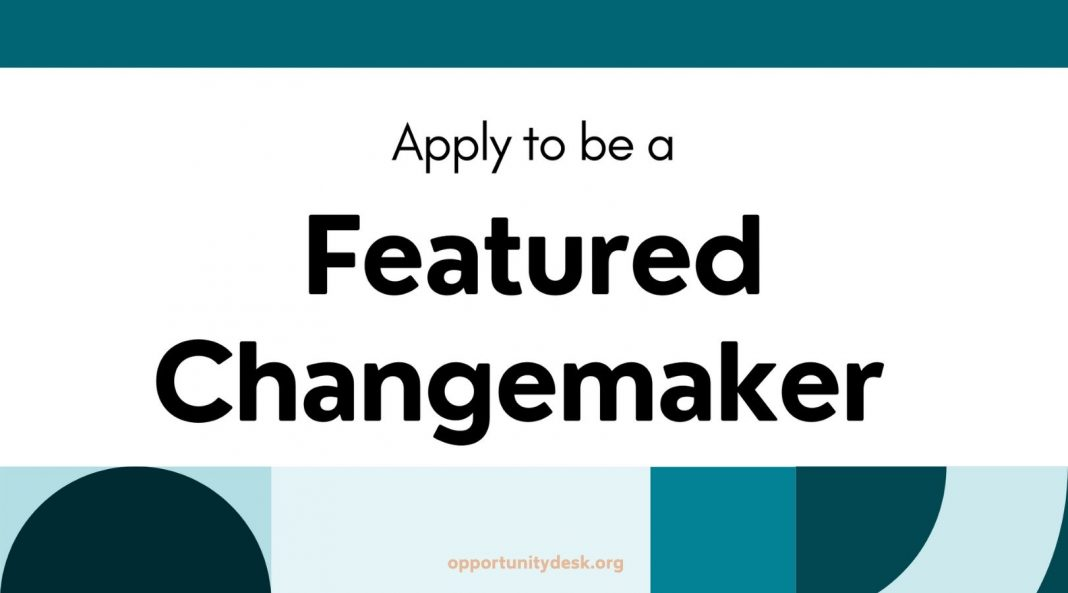 Be a Featured Changemaker in a Human Rights Textbook!