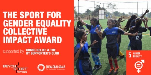 Beyond Sports Gender Equality Collective Impact Award 2020