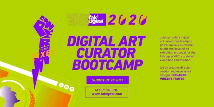Fak'ugesi Festival Digital Art Curator Bootcamp 2020 for African Creatives