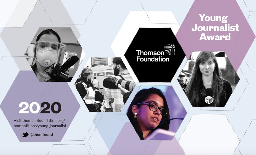 Thomson Foundation Young Journalist Award 2020 for Emerging Journalistic Talent