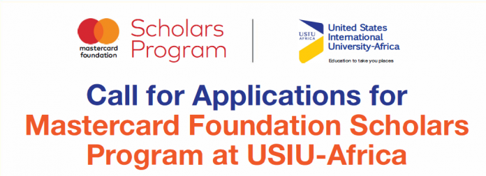 USIU-Africa Mastercard Foundation Scholars Program 2020/2021 for young Africans (Fully Funded)