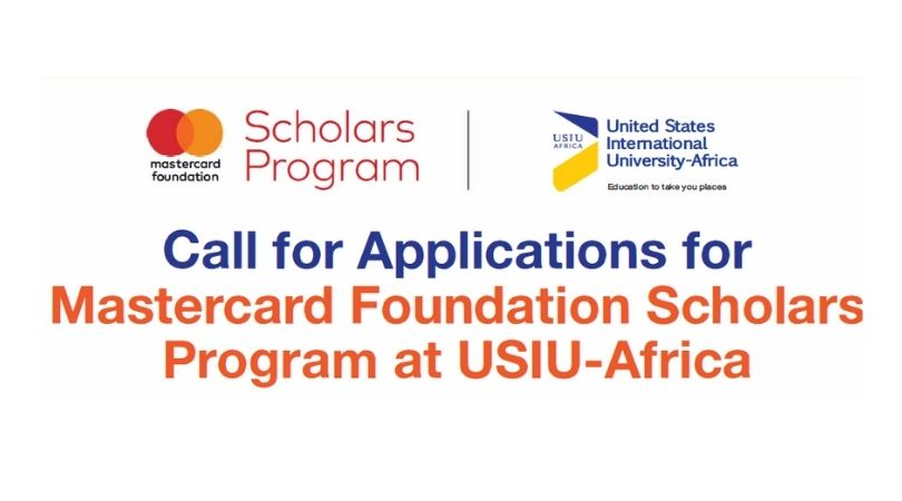 Mastercard Foundation Scholars Program 2020/2021 at United States International University – Africa (Fully-funded)