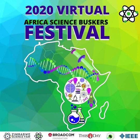 Virtual Africa Science Buskers Festival 2020 for young Africans