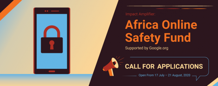 Impact Amplifier Africa Online Safety Fund 2020 ($10,000 grant)