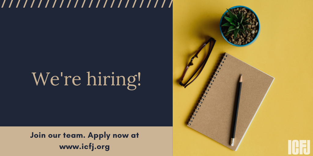International Center for Journalists (ICFJ) Communications Internship 2020 (Paid)