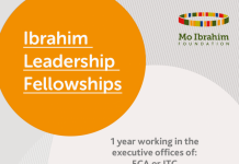 Mo Ibrahim Foundation Leadership Fellowship Program 2021 for emerging African Leaders (Fully Funded to work at UNECA & ITC with Annual Stipend of $100,000)