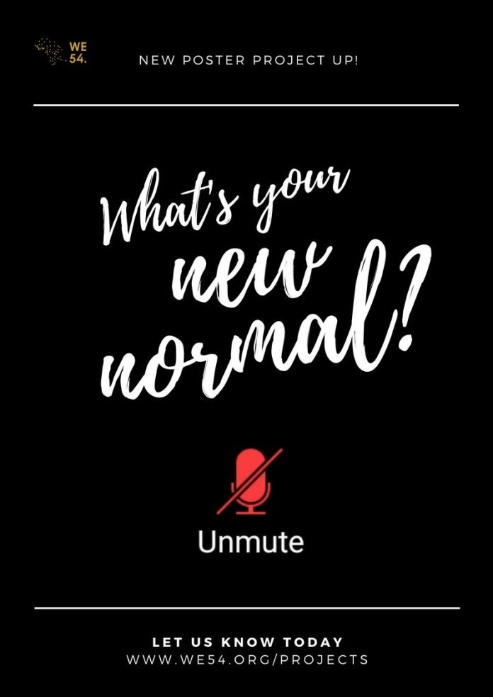 We54 'What's Your New Normal?' Poster Challenge 2020