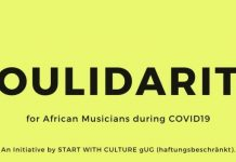 Soulidarity COVID-19 fund for African Musicians