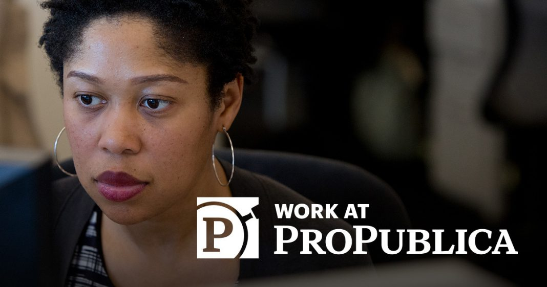 ProPublica Emerging Reporters Program 2020-2021 for College Students of Color in the U.S. ($9,000 stipend)