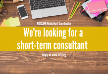 ICFJ is hiring a Coordinator for the PROSAFE Media Haiti Program