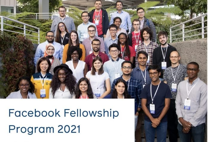 Facebook Fellowship Program 2021 for doctoral students  ($42,000 Annual Stipend & Paid visit to Facebook Headquarters)