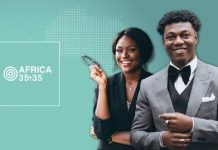 The 2020 edition of the Africa 35.35 Awards for young Africans