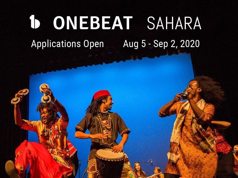 OneBeat Sahara Fellowship Program 2021 for Emerging Musical Leaders (Fully-funded)