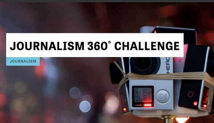 Knight Foundation/ Online News Association Journalism 360˚ Challenge 2020 for Immersive Storytelling Projects ($100,000+ in funding)
