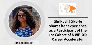 Ginikachi Okorie shares her experience as a Participant of the 1st Cohort of MWB-OD Career Accelerator Program + Tips