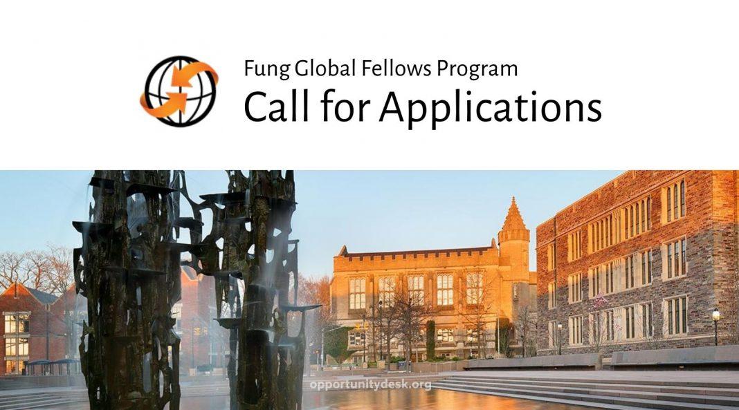 Fung Global Fellows Program – Visiting Research Scholar 2021/2022