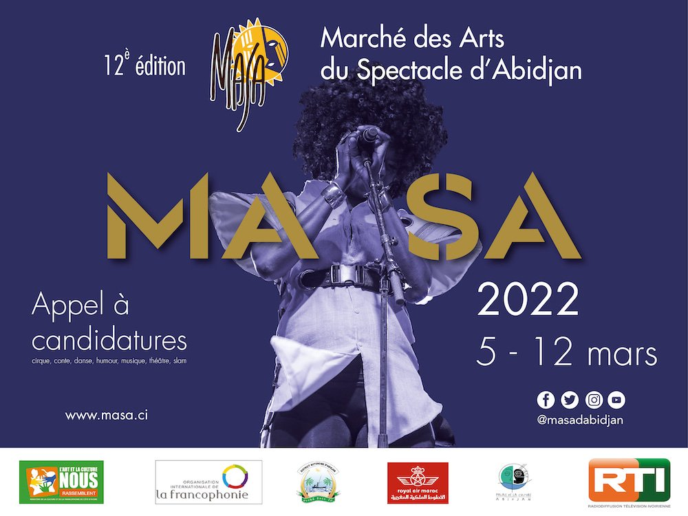 Call for Applications: Market for African Performing Arts (MASA) 2022 in Ivory Coast