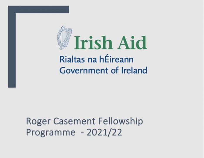 2021/2022 Irish Aid Roger Casement Fellowship in Human Rights (Fully Funded to study in Ireland)
