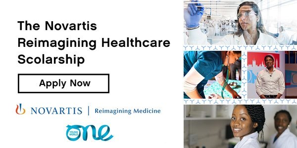 Novartis Reimagining Healthcare Scholarship to attend One Young World Summit 2021 (Fully Funded to Munich, Germany)