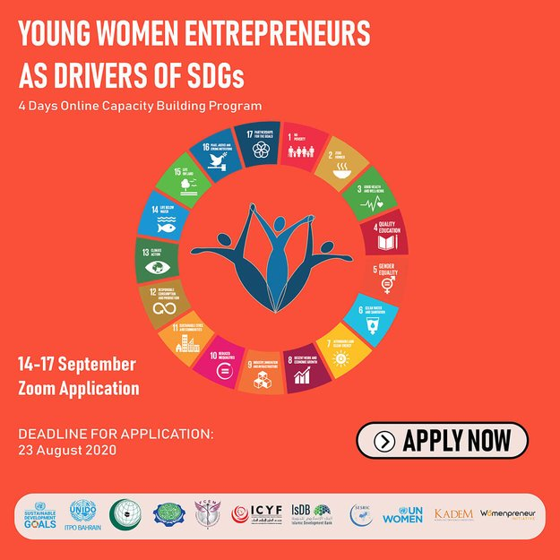 The Islamic Cooperation Youth Forum (ICYF)  Young Women Entrepreneurs as Drivers of SDGs Online Capacity Building Program 2020