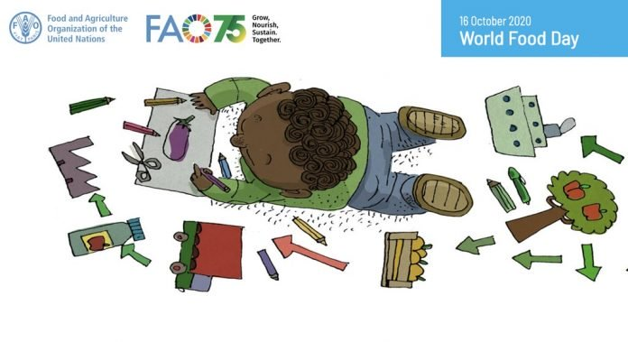 United Nations (UN) FAO World Food Day Poster Contest 2020 for teens worldwide