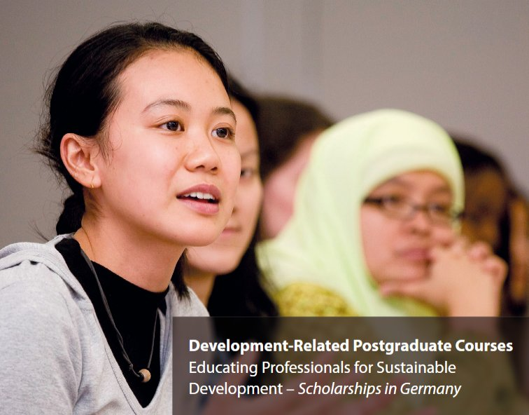 DAAD Development-Related Postgraduate Study Programmes 2020/2021 (Funded)