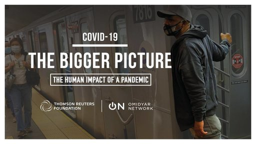 2020 Thompson Reuters Foundation's Bigger Picture Photography Competition on Covid-19