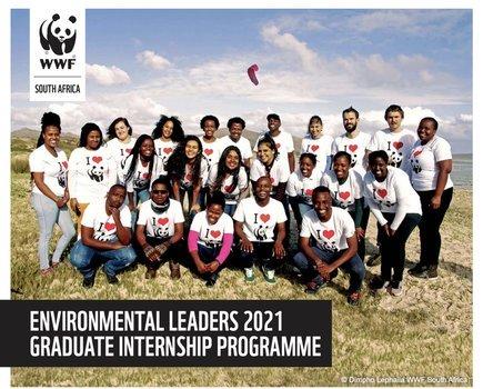 WWF South Africa Environmental Leaders 2021 Graduate Internship Programme.