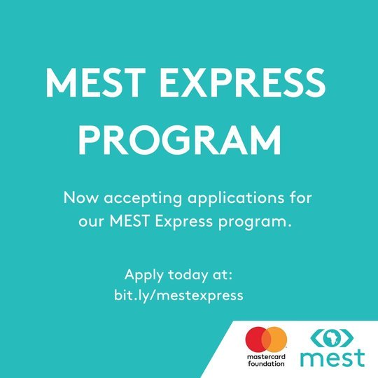 MEST Express Acceleration Program 2020 for early & growth stage Ghanaian tech startups