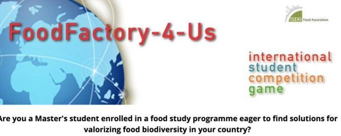 The Food Factory-4-Us Sustainable Supply Chain International Student Competition 2020