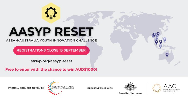 AASYP Reset: ASEAN-Australia Youth Innovation Challenge 2020