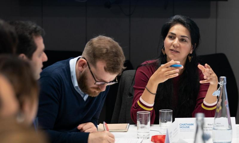 Chatham House Richard and Susan Hayden Academy Fellowship 2021 (Funded)