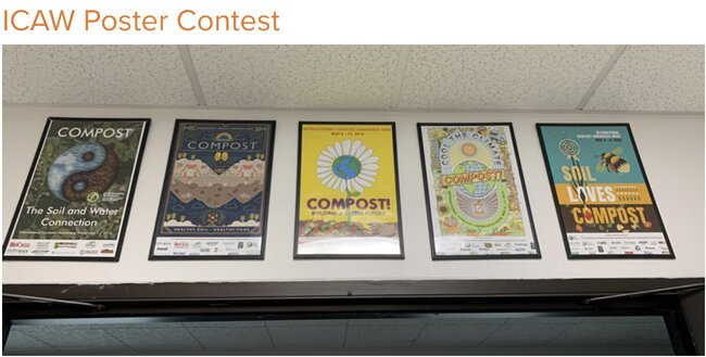 The International Compost Awareness Week (ICAW) 2021 International Poster Contest ($500 prize)